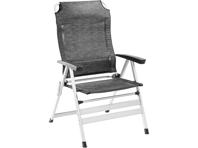 Brunner Kerry Slim Chaise de camping, contour carbon